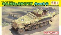 Dragon Sd.Kfz.251/17 Ausf.C makett