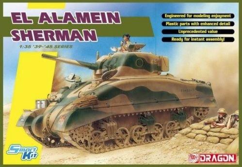 Dragon EL ALAMEIN Sherman (w/Magic Tracks) makett