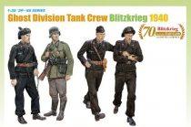 Dragon Ghost Division Tank Crew Blitzkrieg 1940