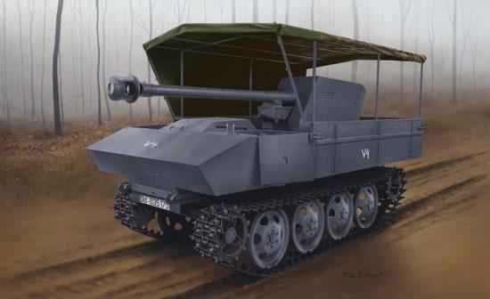 Dragon 7,5 cm PAK 40/4 auf RSO Allwetterv.