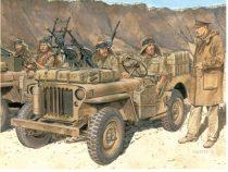 Dragon SAS 1/4 Ton 4x4 Patrol Commander's Car makett