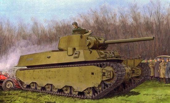 Dragon M6A1 Heavy Tank makett
