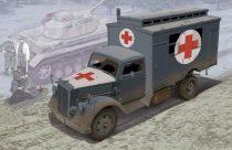 Dragon German Ambulance Truck makett