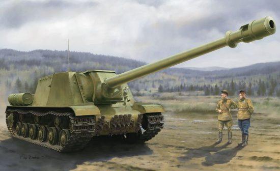 Dragon ISU-152-2 BL-10 makett