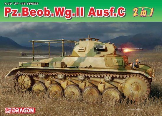 Dragon Pz.Beob.Wg.II Ausf.A-C makett