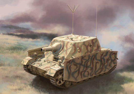 Dragon Sturmpanzer Ausf.I als Befehlspanz