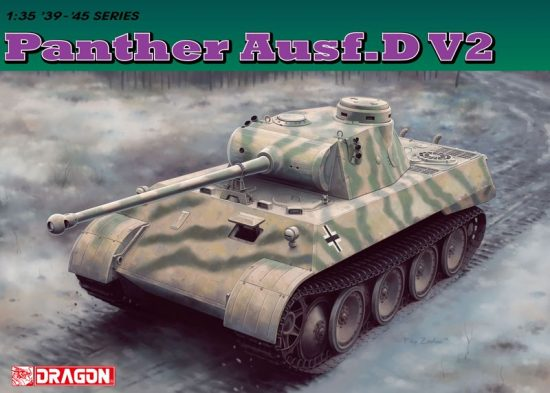 Dragon Panther Ausf. D V2 makett