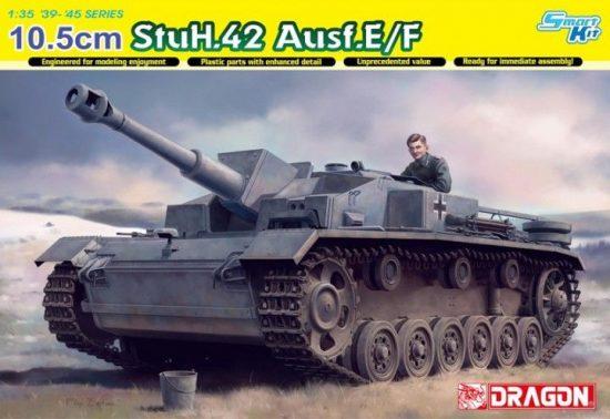 Dragon 10.5 cm StuH.42 Ausf.E/F makett
