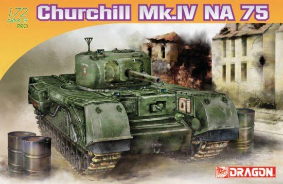 Dragon Churchill MK.IV NA75 makett