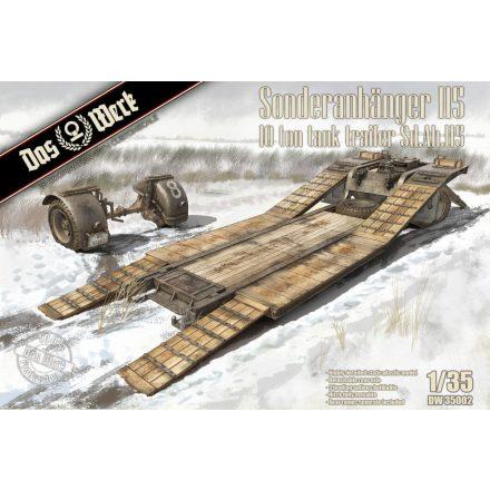 Das Werk Sonderanhänger 115 10 Ton Tank Trailer Sd.Anh. 115 trailer makett