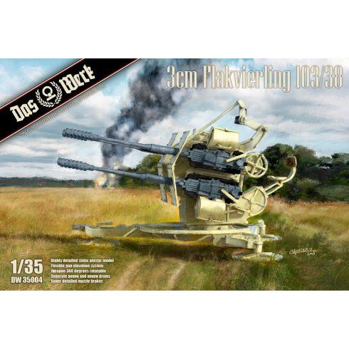 Das Werk 3cm Flakvierling 103/38 makett