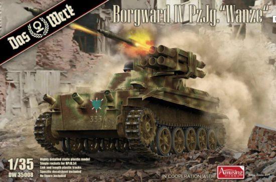 Das Werk Borgward IV Panzerjäger Wanze makett