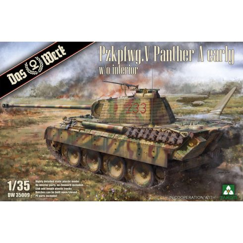 Das Werk Pzkpfwg. V Panther Ausf.A Early makett