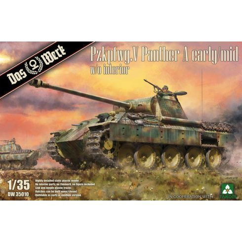 Das Werk Pzkpfwg. V Panther Ausf.A Early / Mid makett