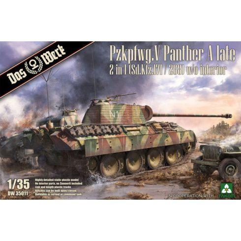 Das Werk Pzkpfwg. V Panther Ausf.A Late makett