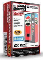 AK SODA VENDING MACHINE / TYPE C