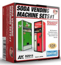 AK SODA VENDING MACHINE SETS 1