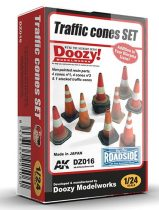 AK TRAFFIC CONES SET