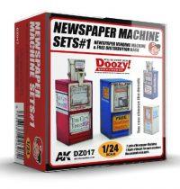 AK NEWSPAPER MACHINE SETS 1.