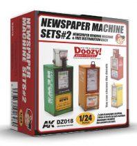 AK NEWSPAPER MACHINE SETS 2.