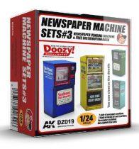 AK NEWSPAPER MACHINE SETS 3.