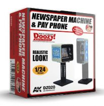 AK NEWSPAPER MACHINE & PAY PHONE