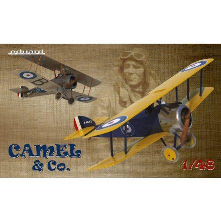 Eduard Camel & Co - Sopwith F.1 Camel Limited makett