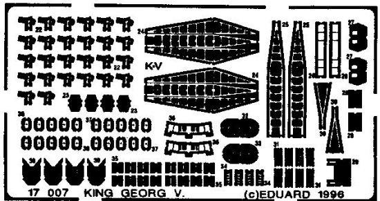 Eduard HMS King George V. (Tamiya)