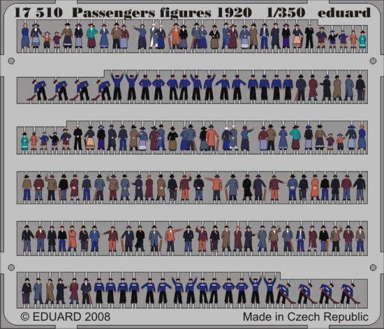 Eduard Passengers Figures 1920