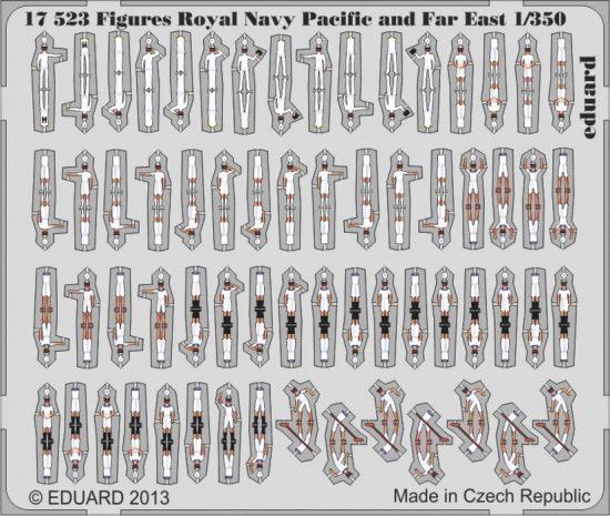 Eduard Figures Royal Navy Pacific and Far East