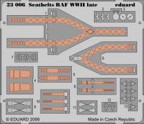 Eduard Seatbelts RAF WWII late