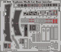 Eduard Typhoon Mk. Ib Car Door interior (Airfix)