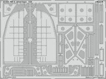 Eduard F6F-5 wheel bays (Airfix)