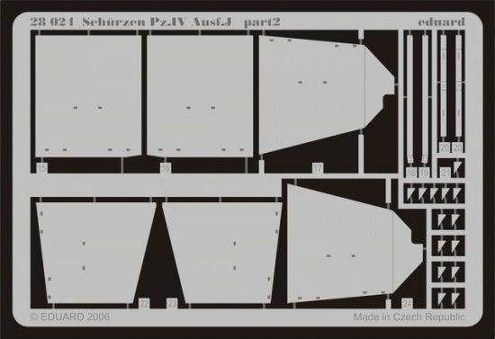Eduard Schürzen Pz.IV Ausf.J (Tamiya)