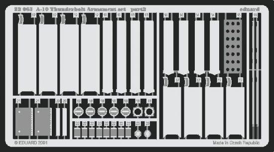 Eduard A-10 armament (Trumpeter)