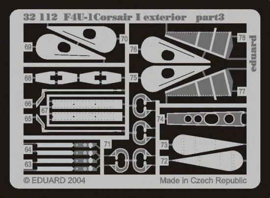 Eduard F4U-1 exterior (Trumpeter)