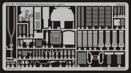 Eduard P-38L interior (Trumpeter)