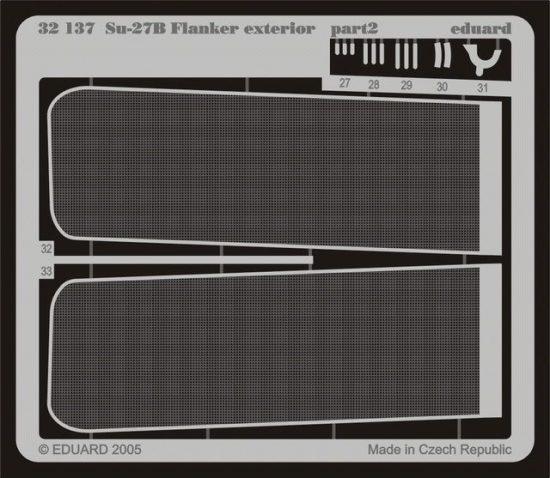 Eduard Su-27 Flanker B exterior (Trumpeter)