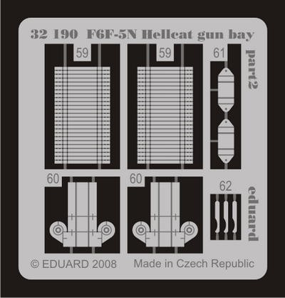 Eduard F6F-5N gun bay (Trumpeter)