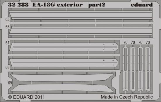Eduard EA-18G exterior (Trumpeter)