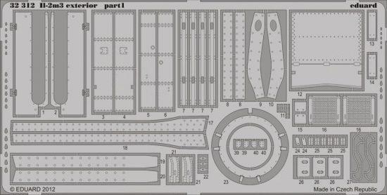 Eduard Il-2m3 exterior (Hobby Boss)
