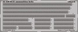 Eduard B-25 ammunition belts (Hong Kong Models)