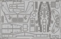 Eduard Mirage III E/ R exterior (Italeri)