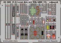 Eduard F-14A ejection seat (Tamiya)