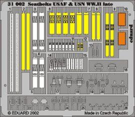 Eduard Seatbelts USAF & USN WWII late
