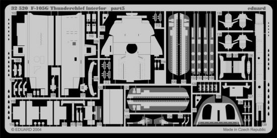 Eduard F-105G interior (Trumpeter)