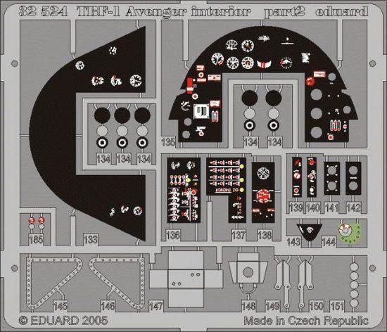 Eduard TBF-1 interior (Trumpeter)