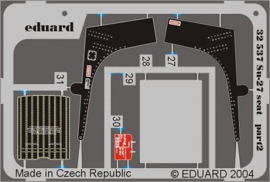Eduard Su-27 Flanker seat (Trumpeter)