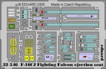 Eduard F-16CJ ejection seat (Tamiya)