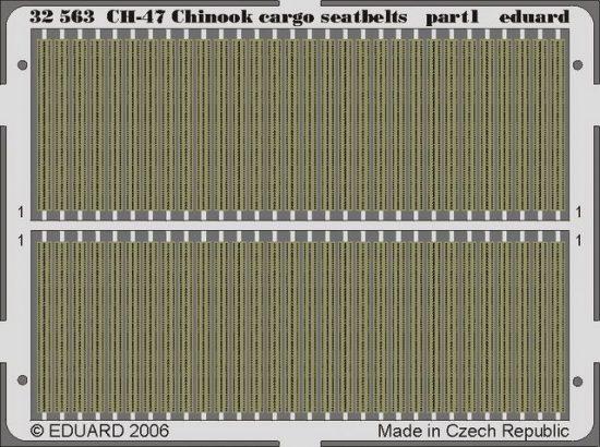 Eduard CH-47 Chinook cargo seatbelts (Trumpeter)